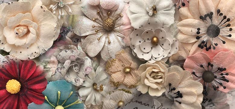 fleurs prima scrapbooking